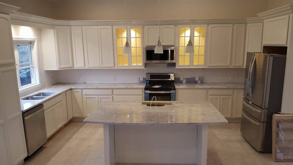 Light Color Countertops in Marion IL