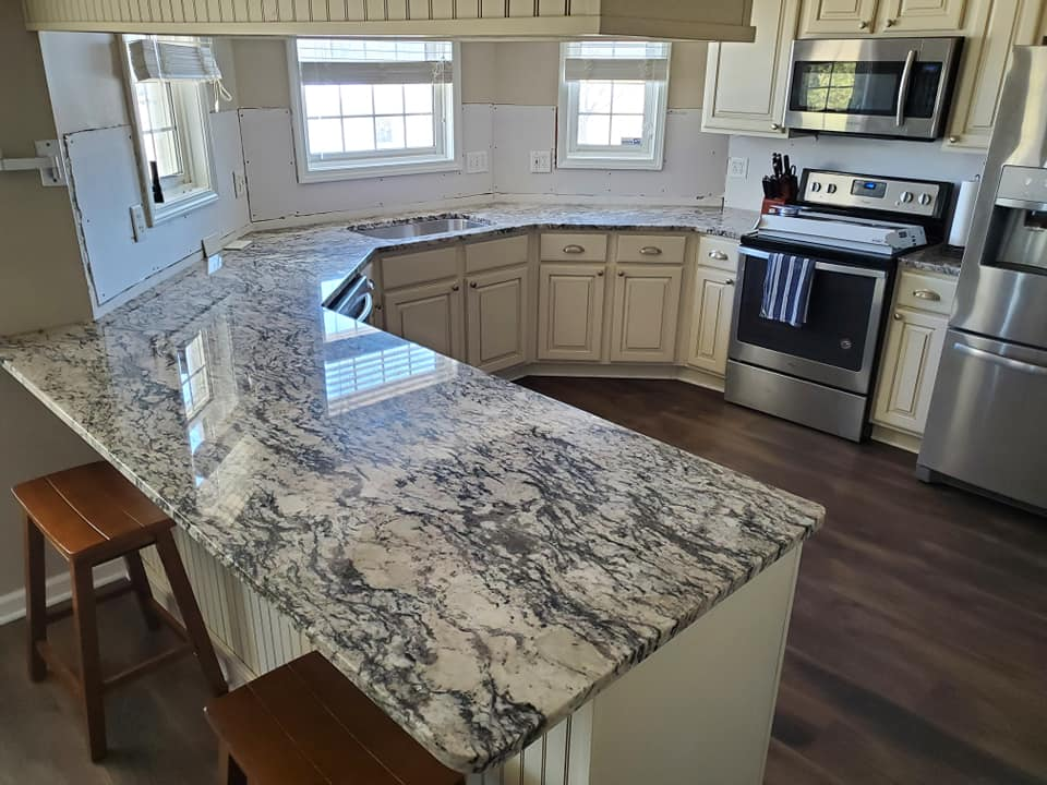 Large Countertop Fabrication and Installation in Marion IL