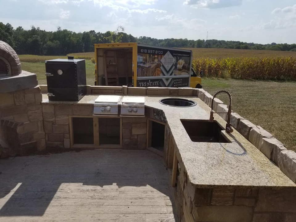 Outdoor Countertops in Marion IL