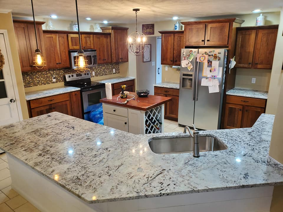 Counter Installation in Marion IL