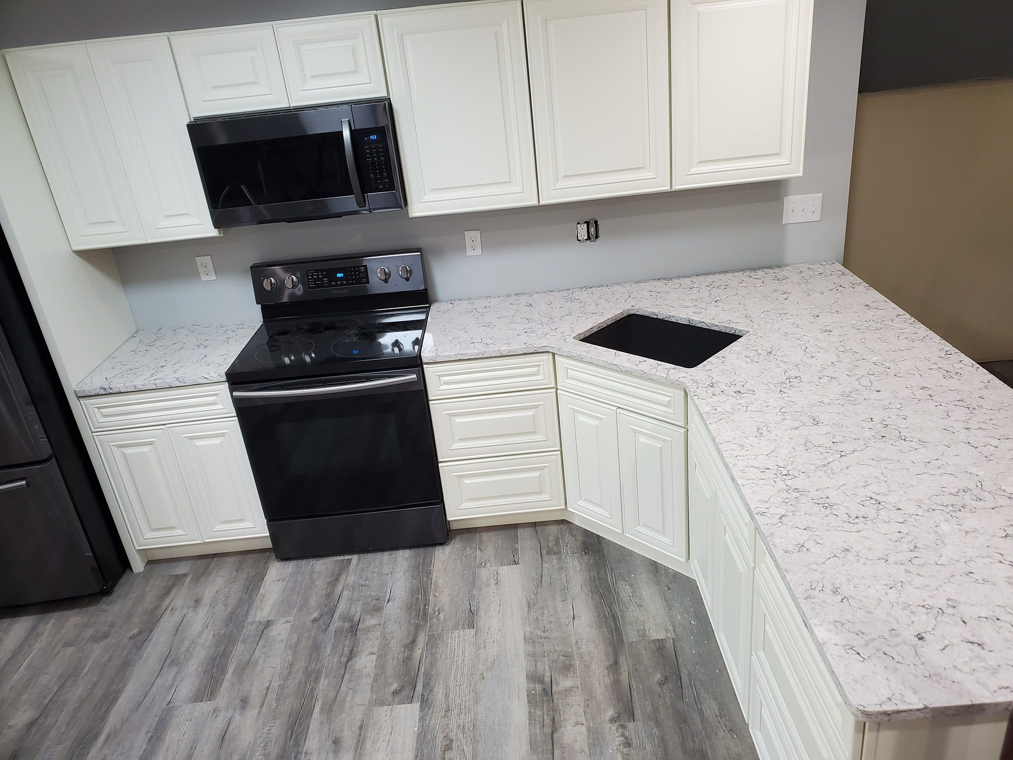 Counter Installation for Kitchen Remodel in Marion IL